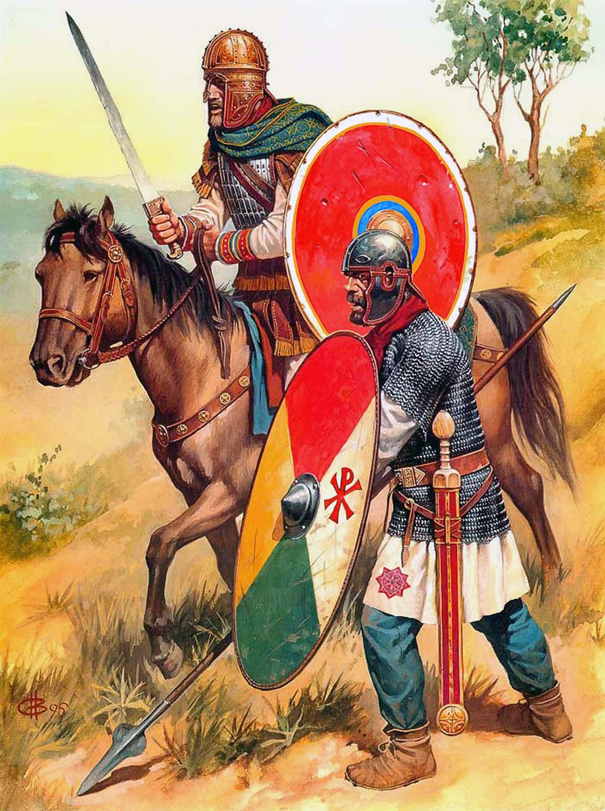 рисунки римские: